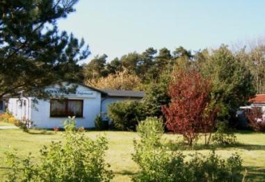 Südseite Ferienhof-Gästehaus. Foto: Eckart Kreitlow